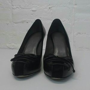 Cole Haan Shoes - Cole Haan Nike Air Leather Pony Hair Heels 6.5B